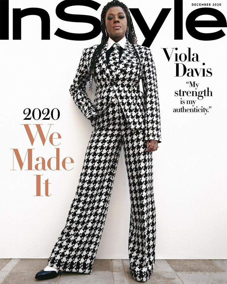 Viola Davis Was Striking On The Cover Of InStyle December 2020