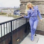 Lady Gaga Dons Double Denim Balmain In Pennsylvania