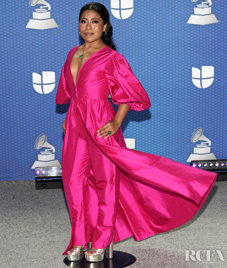 Yalitza Aparicio in HELOROCHA 2020 Latin GRAMMY Awards