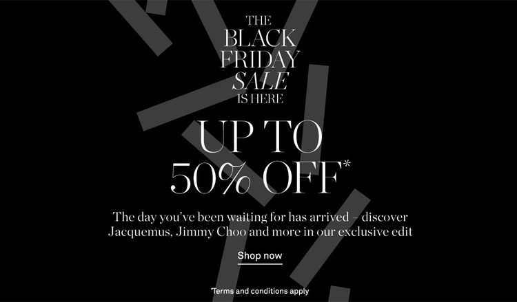 The NET-A-PORTER Black Friday Sale Is Here: Get Up To 50% Off Now