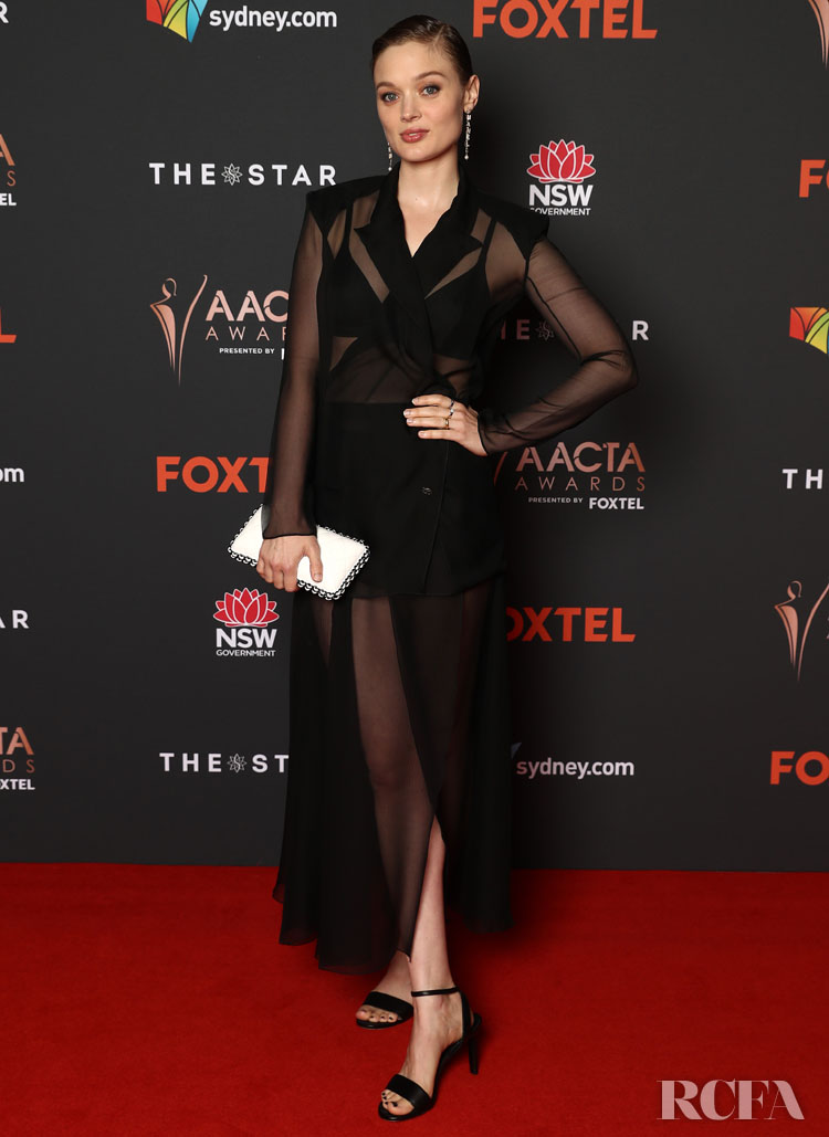 Bella Heathcote Wore Chanel To The 2020 AACTA Awards