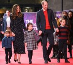 Catherine, Duchess of Cambridge Wore Alessandra Rich To See 'Pantoland'