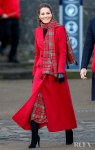 Catherine, Duchess of Cambridge Wore Alexander McQueen & Emilia Wickstead For Her Visit To Cardiff