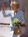Ulyana Sergeenko's Croc Handbags Are Inspired by Lady Diana