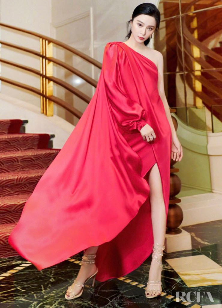 Fan Bingbing Wore Ralph & Russo For Her Guerlain Photoshoot