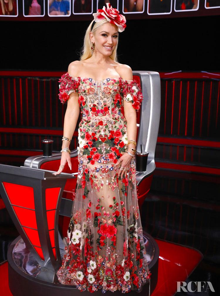 Gwen Stefani Wore Dolce & Gabbana to 'The Voice' Finale