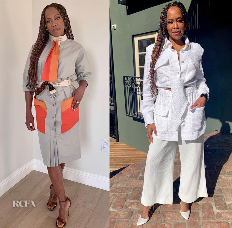 Regina King Wore Louis Vuitton & Chanel Promoting 'One Night in Miami'