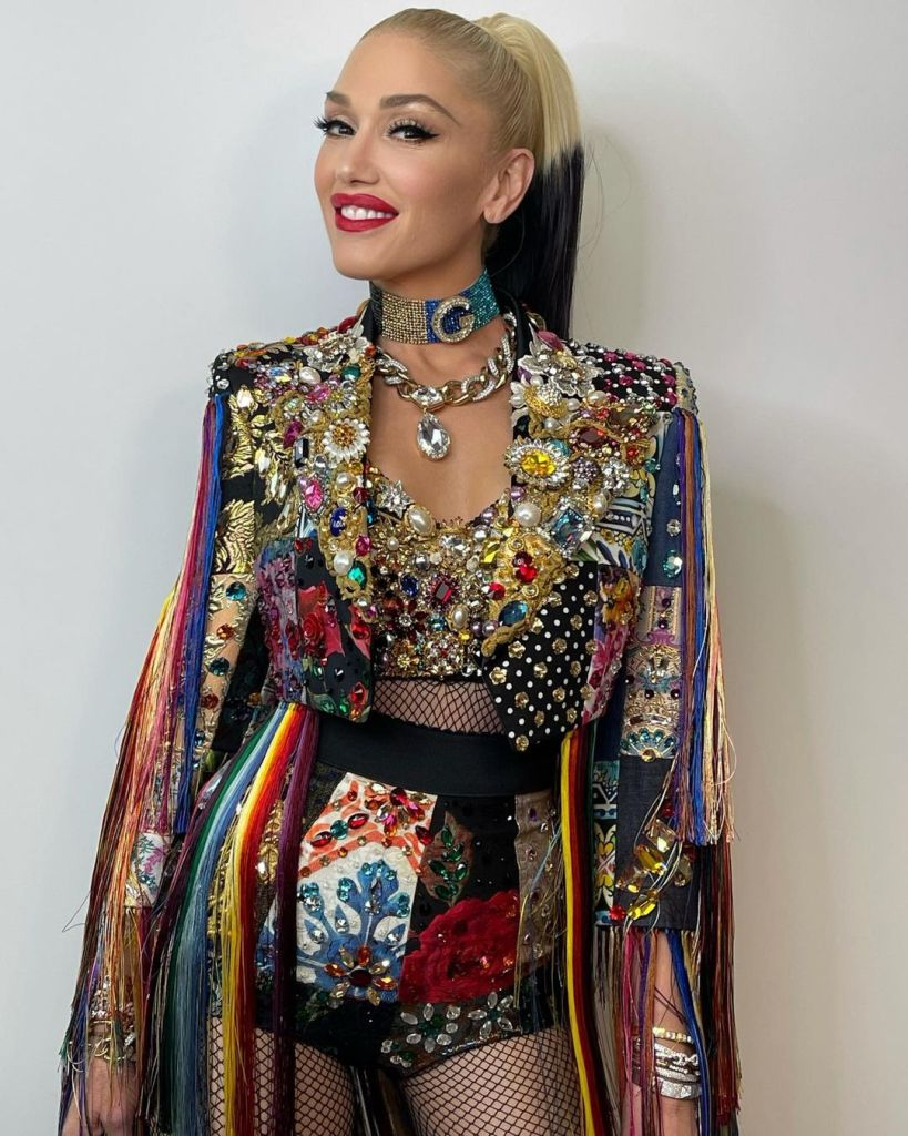 Gwen Stefani Wore Dolce & Gabbana On 'The Voice'