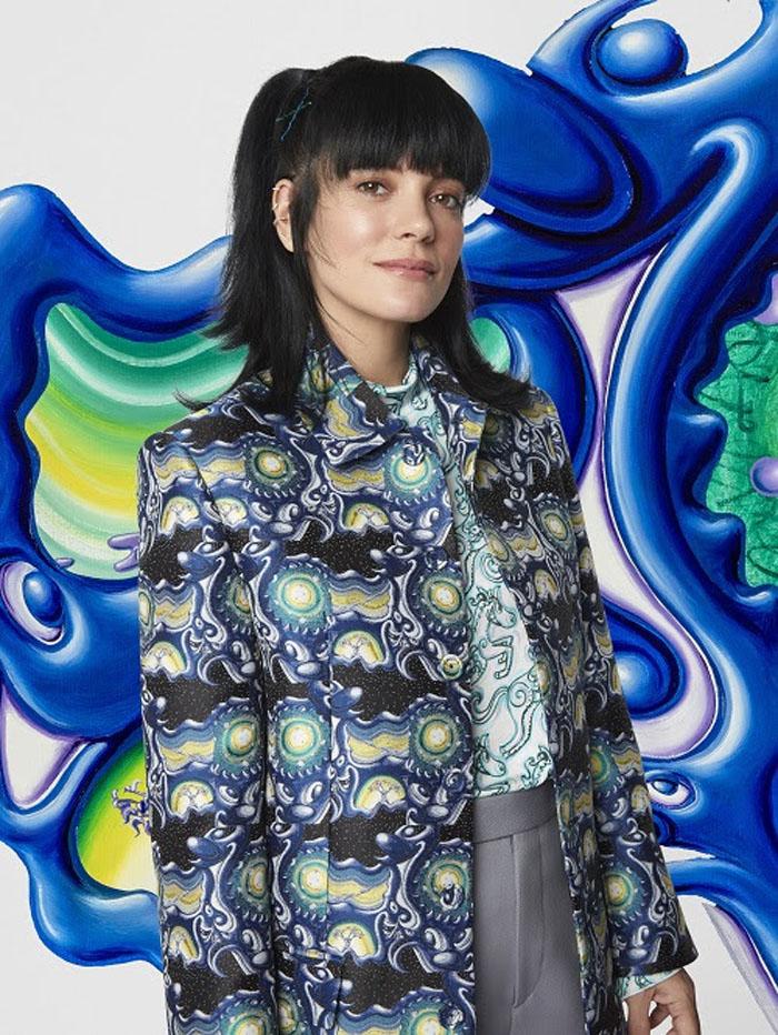 Lily Allen Dior Men Fall 2021