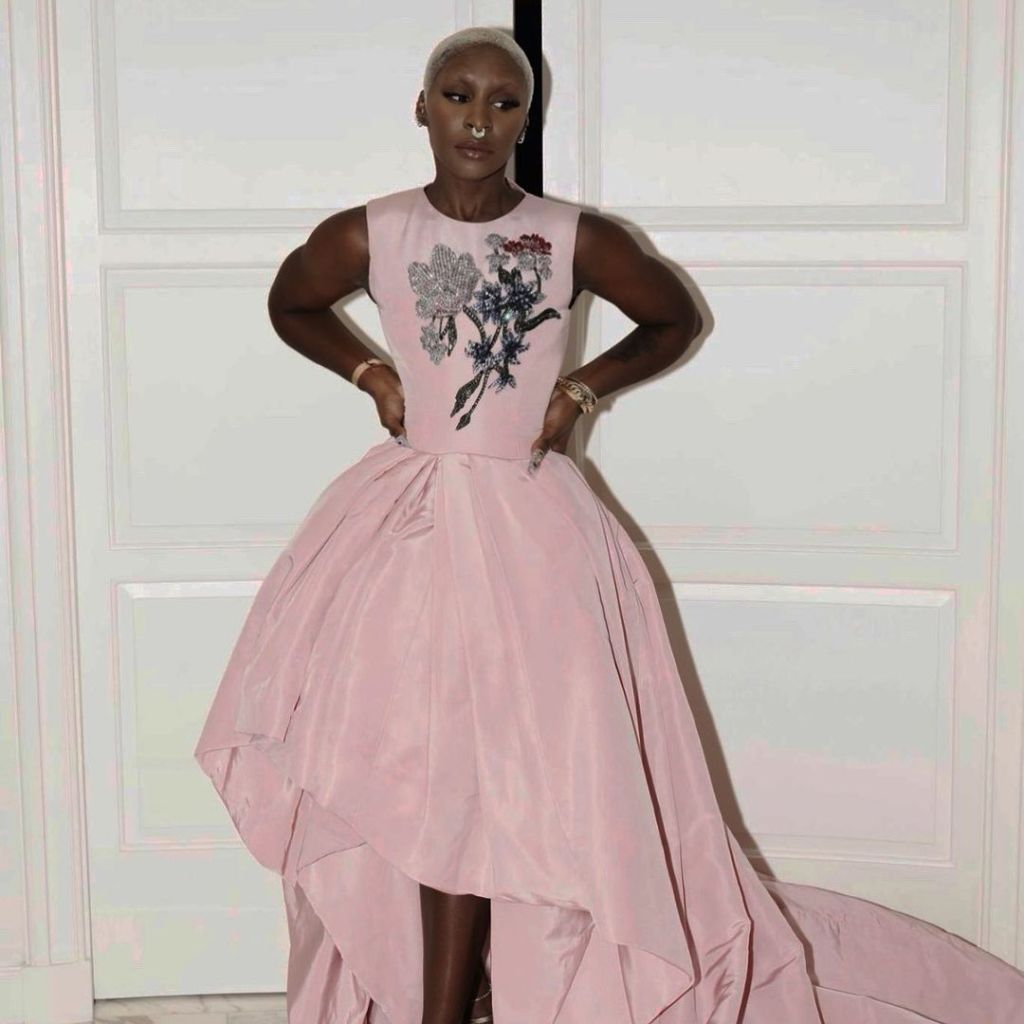 Cynthia Erivo Promoted 'Genius Aretha' Wearing Oscar de la Renta