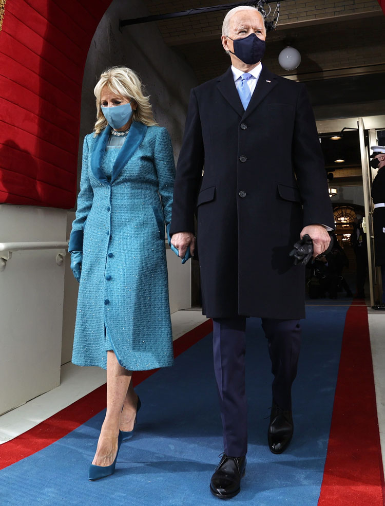 Dr. Jill Biden Wore Markarian For Joe Biden's Inauguration
