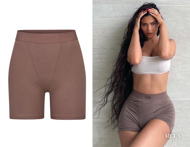 Kylie Jenner's SKIMS Boyfriend Boxer Shorts