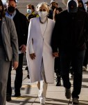 Lady Gaga Wore Givenchy Prepping For Her Inauguration Performance