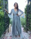 Regina King Promotes 'One Night In Miami' Wearing Christian Dior, Aliétte & Oscar de la Renta