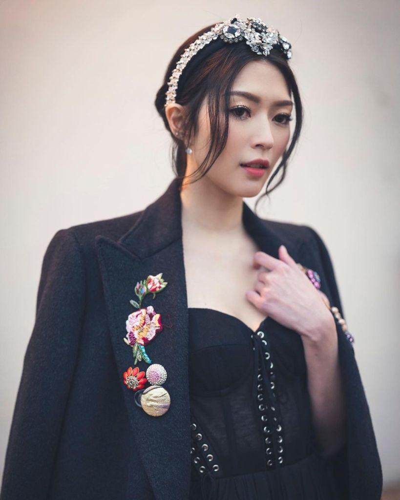 Shiga Lin 連詩雅 Wore Dolce & Gabbana To The TVB Awards Presentation 2020