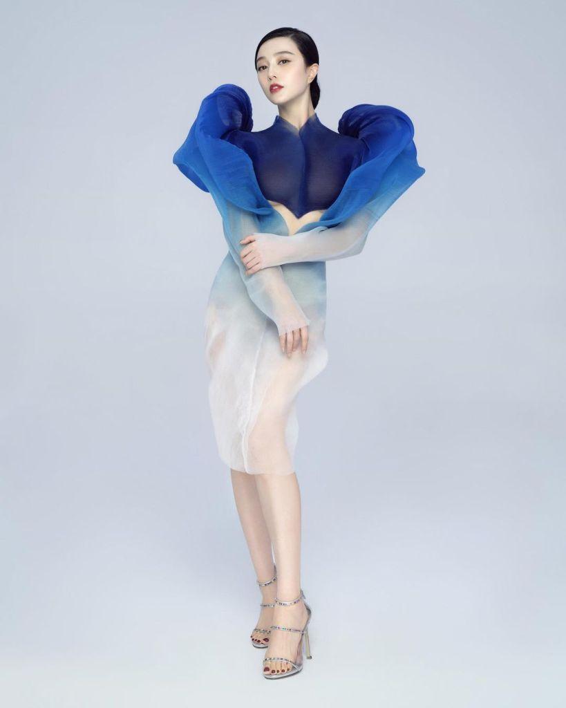 Fan Bingbing Was Instaglam In Iris van Herpen Haute Couture