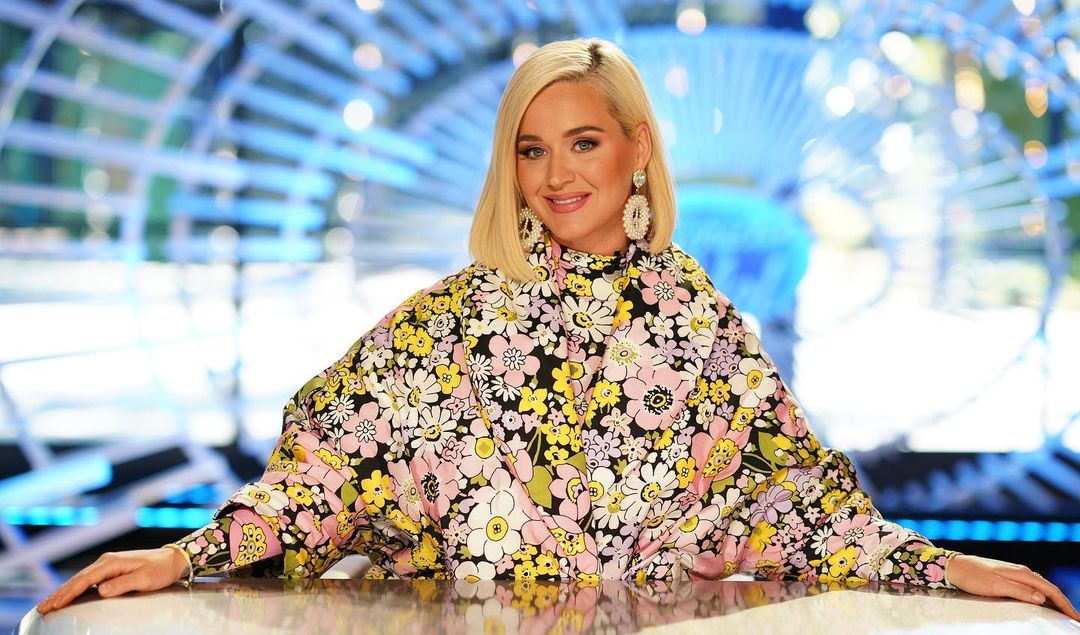 Katy Perry Wore Moncler 8 Richard Quinn On American Idol