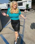 Rebel Wilson Wore Gucci On Set For 'Pooch Perfect'