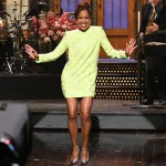 Regina King Hosts Saturday Night Live In David Koma & Etro
