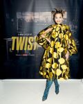 Rita Ora Wore Carolina Herrera For The 'Twist' At Home Premiere