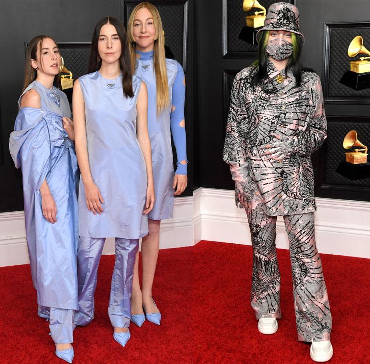 2021 Grammy Awards Red Carpet Roundup