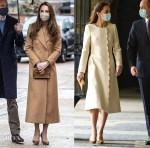 Catherine, Duchess Of Cambridge's Tale Of Two Coats
