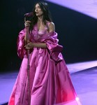 Dua Lipa Wore Versace For Her 2021 Grammy Awards Performance