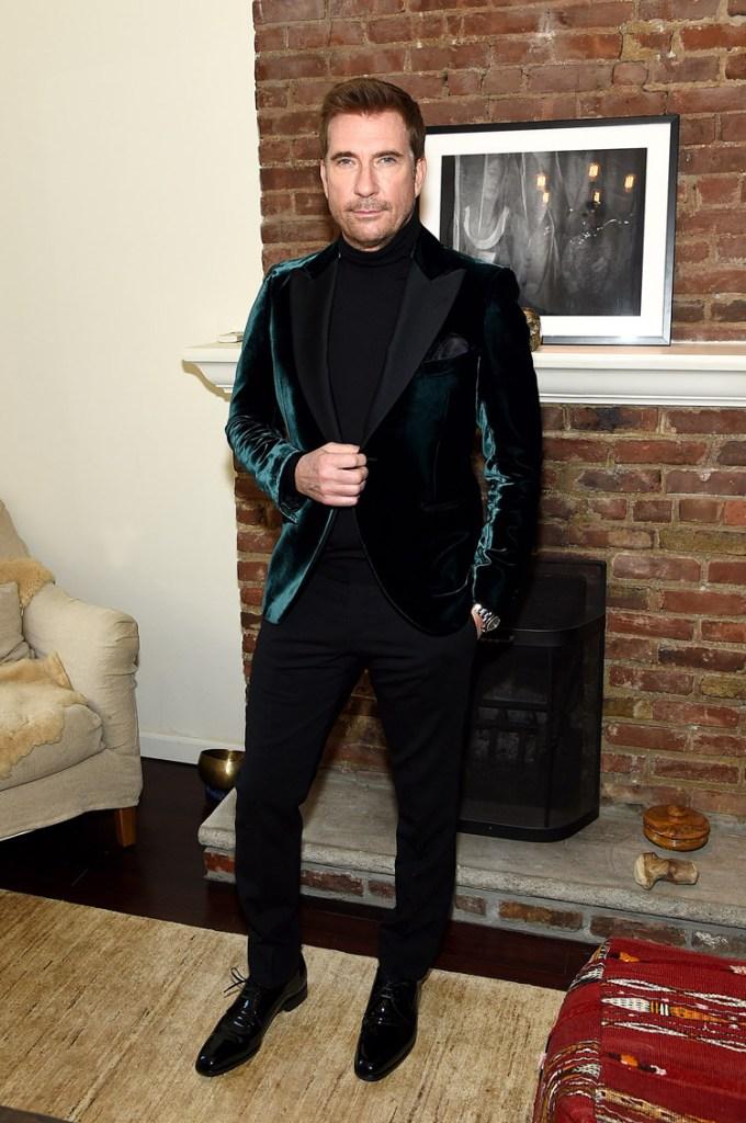 Dylan McDermott Armani 2021 Critics' Choice Awards