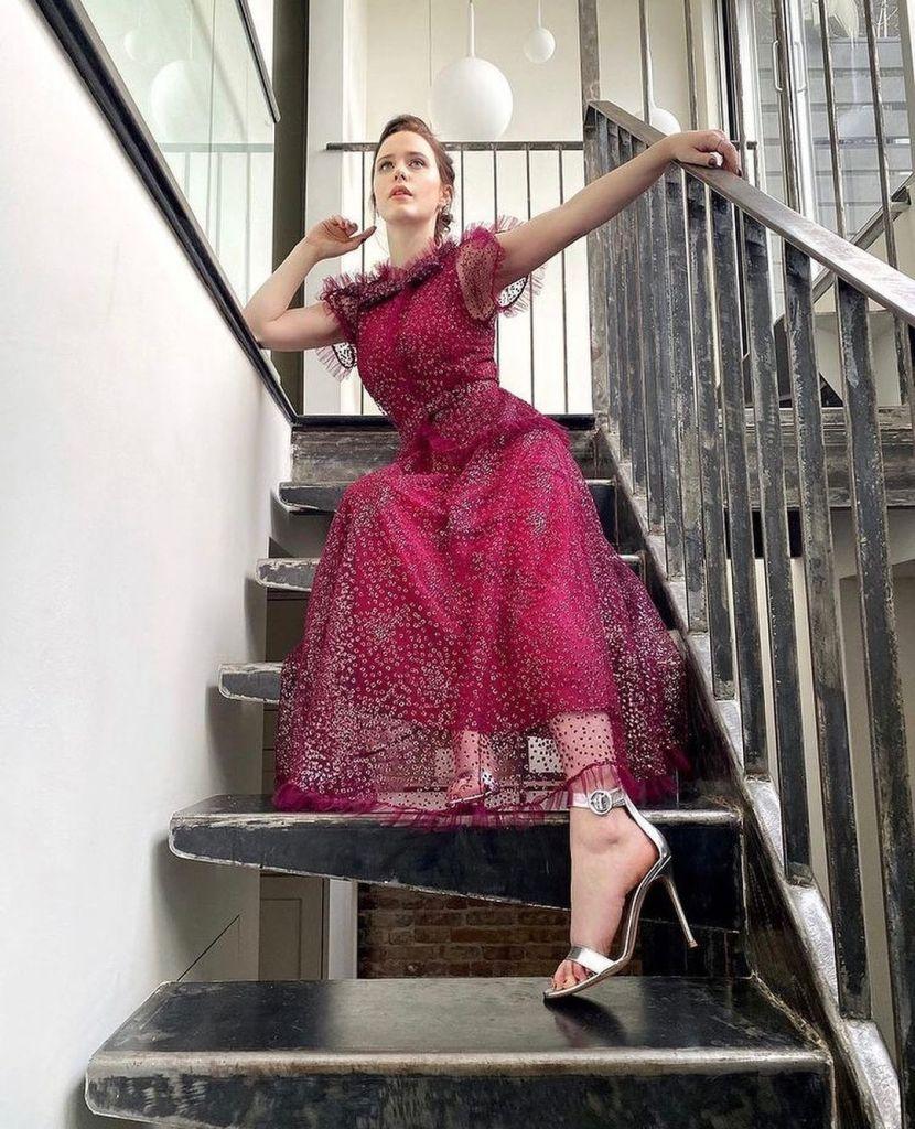 Rachel Brosnahan Rodarte 2021 Critics' Choice Awards
