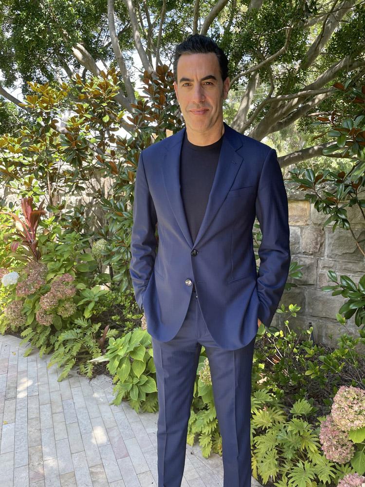 Sacha Baron Cohen Armani 2021 Critics' Choice Awards