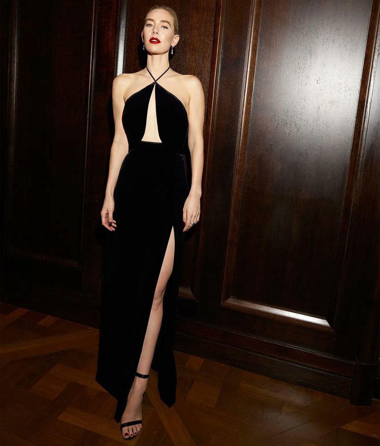 Vanessa Kirby Gucci 2021 Golden Globe Awards