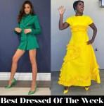 Best Dressed Of The Week Zendaya In Pertegaz & Viola Davis In Greta Constantine
