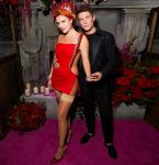 Bella Thorne Announced Her Engagement Wearing Tony Ward Couture & Valdrin Sahiti