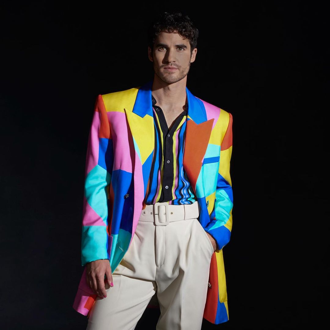 Darren Criss Releases His New Single 'F*KN AROUND' Wearing Balmain