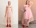 Gillian Jacobs' Simone Rocha x H&M Tulle Dress
