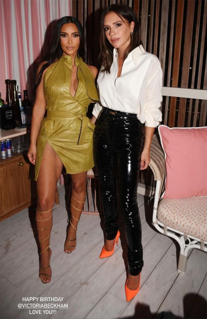 Kim Kardashian, Victoria Beckham & Anitta Attend The Inter Miami CF Season Opening Party