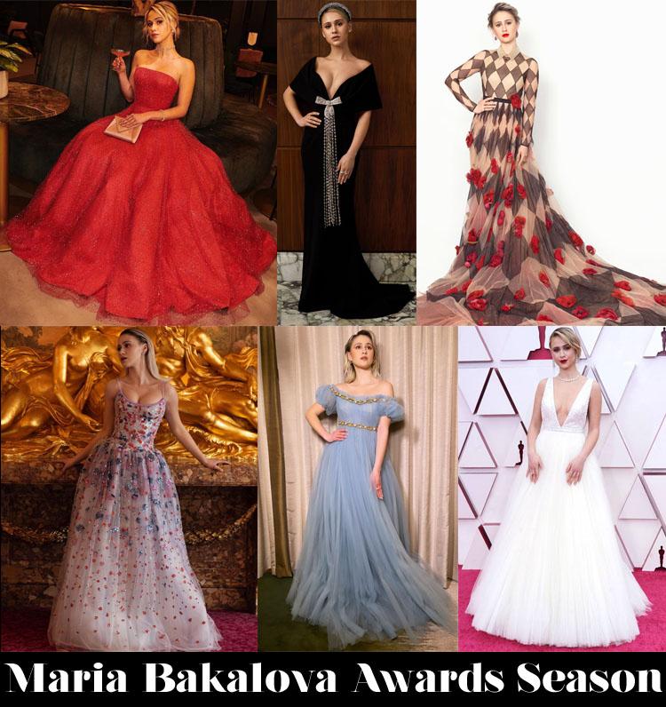 What Your Was Your Favourite Maria Bakalova Awards Season Look?