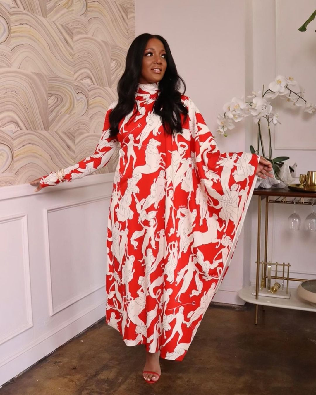 Mickey Guyton Wore Valentino On 'This Morning'