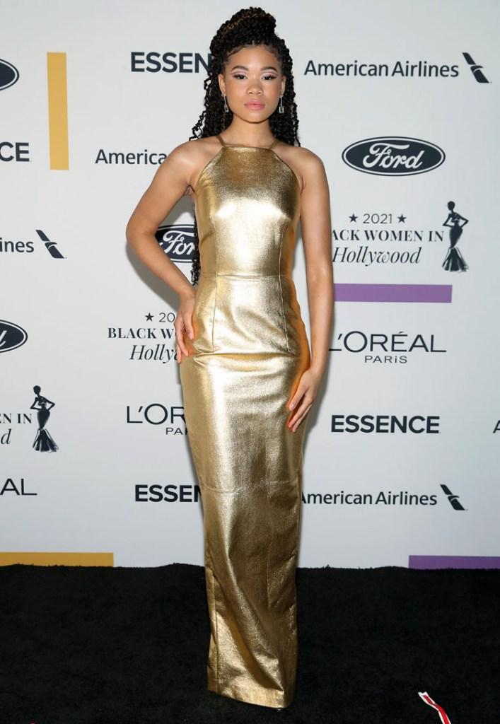 Storm Reid Wore Prada & Christopher Kane To The ESSENCE Black Women in Hollywood Awards