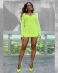 Beyonce Wore Neon Balmain For The 'Gram