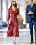 Catherine, Duchess of Cambridge Wore Alessandra Rich To The V&A Museum