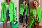 Celebrities Love...Neon Green Blazers