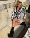 Florence Pugh Wore Giambattista Valli Promoting 'Black Widow'