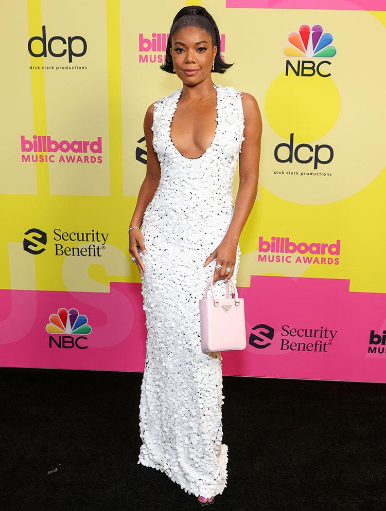 Gabrielle Union Wore Prada To The 2021 Billboard Music Awards