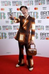 Harry Styles Wore Gucci To The BRIT Awards 2021