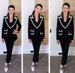 Julianna Margulies Wore Dolce & Gabbana On Late Night with Seth Meyers