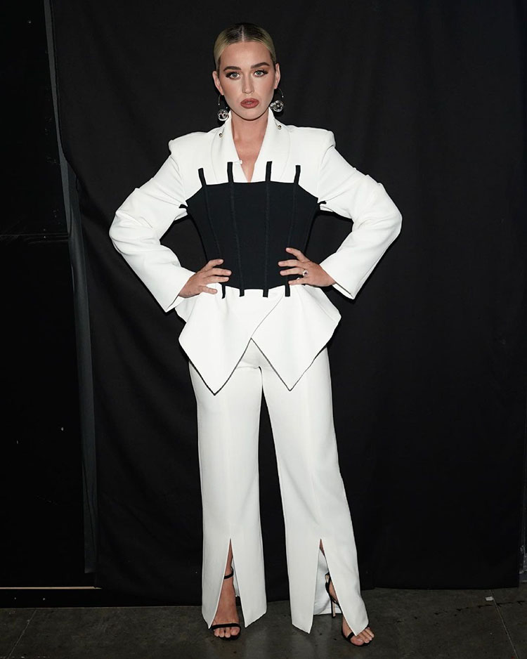 Katy Perry Wore Maticevski On American Idol