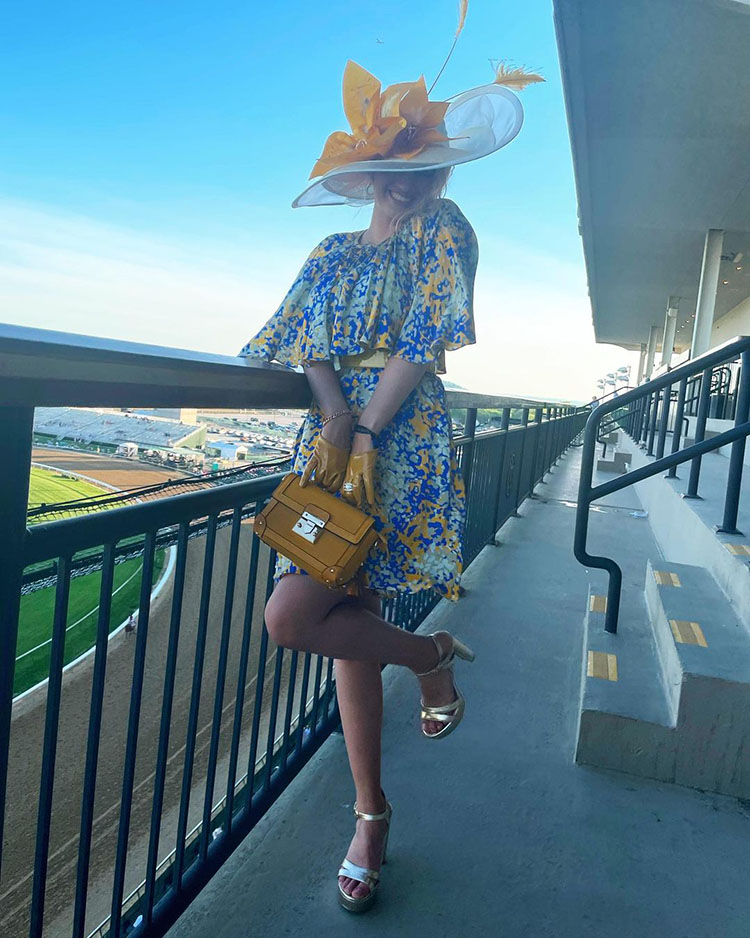 Tori Kelly Wore Marc Jacobs & Stella McCartney To The Kentucky Derby