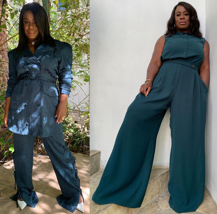 Uzo Aduba Promotes 'In Treatment' Season 4 With Five Virtual Looks