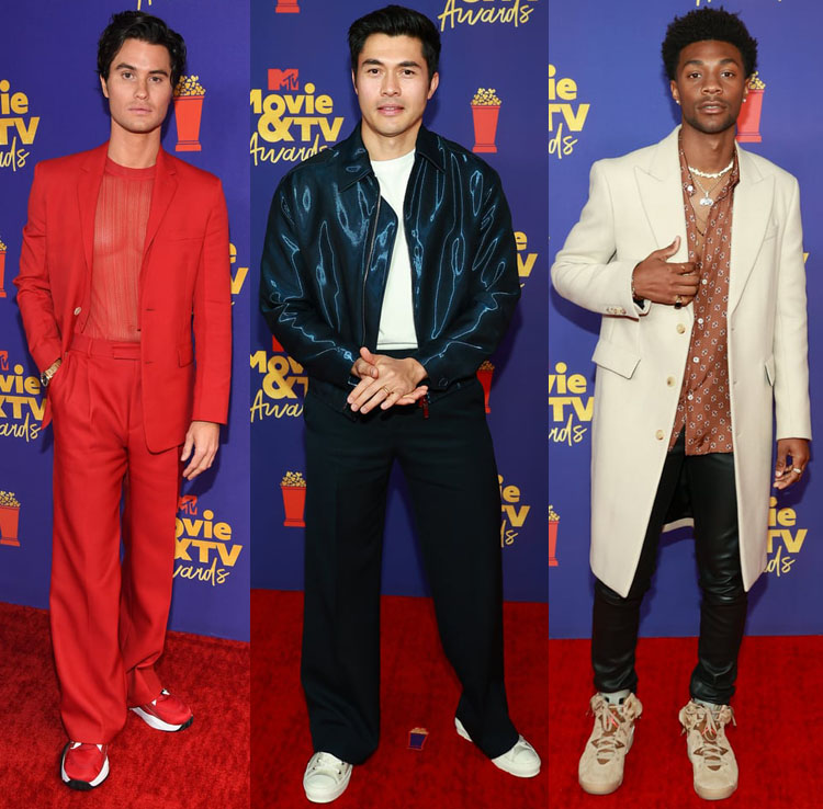 2021 MTV Movie & TV Awards Red Carpet Menswear Roundup